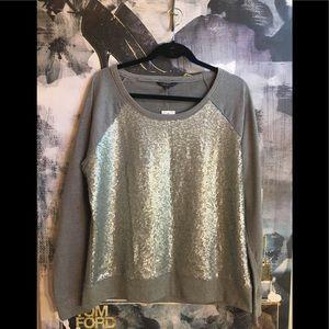 NWT Sequin Sweatshirt - SO CUTE!
